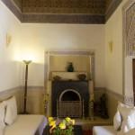 Beautiful interior spaces at Riad El Zohar, Marrakech