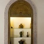 Carefully preserved historic details at Riad El Zohar, Marrakech
