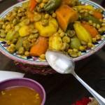 High quality food at Riad El Zohar, Marrakech