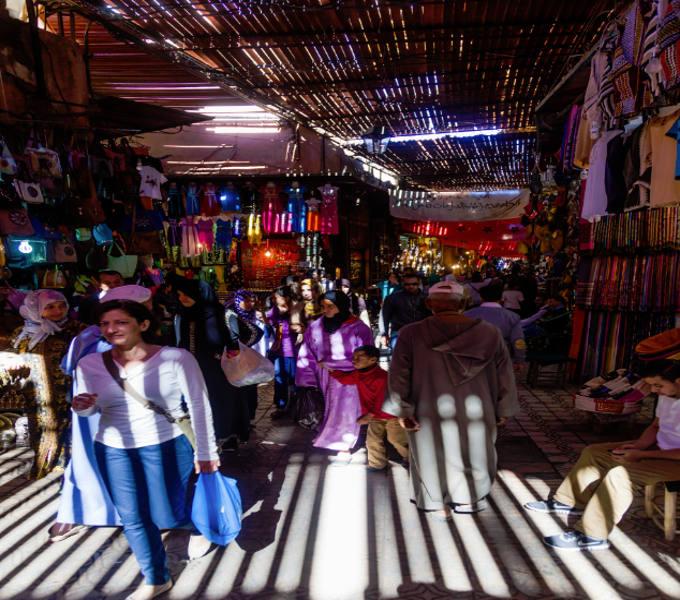 Visit A Souk in Marrakech - Riad el Zohar