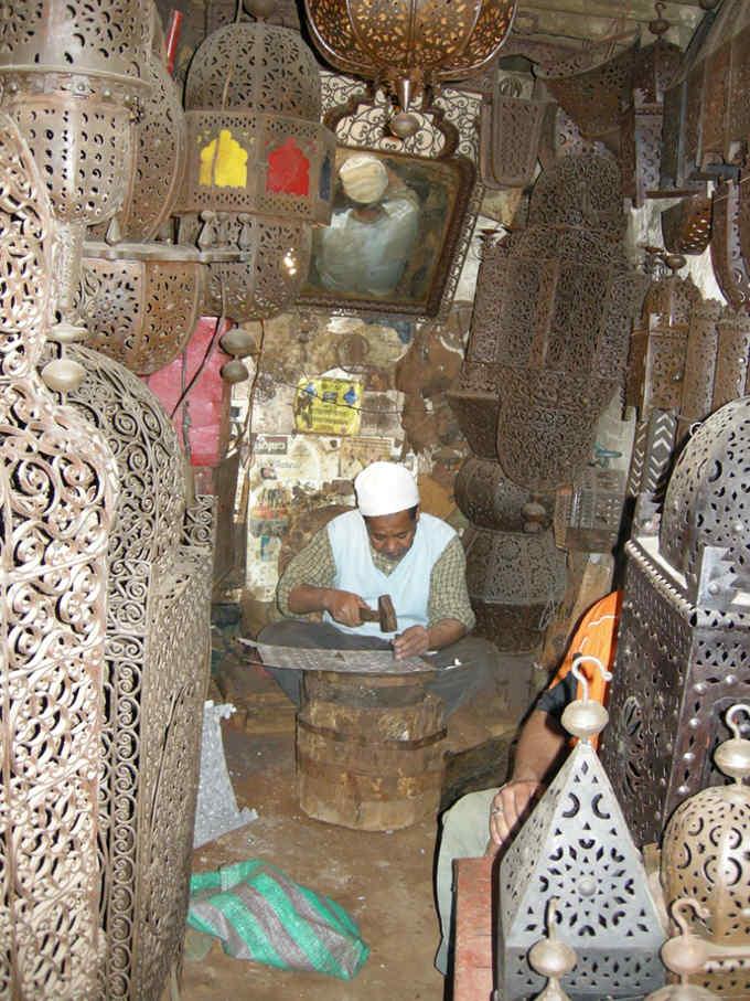 Workshop in the souks