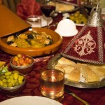 High quality food and dinner at Riad El Zohar