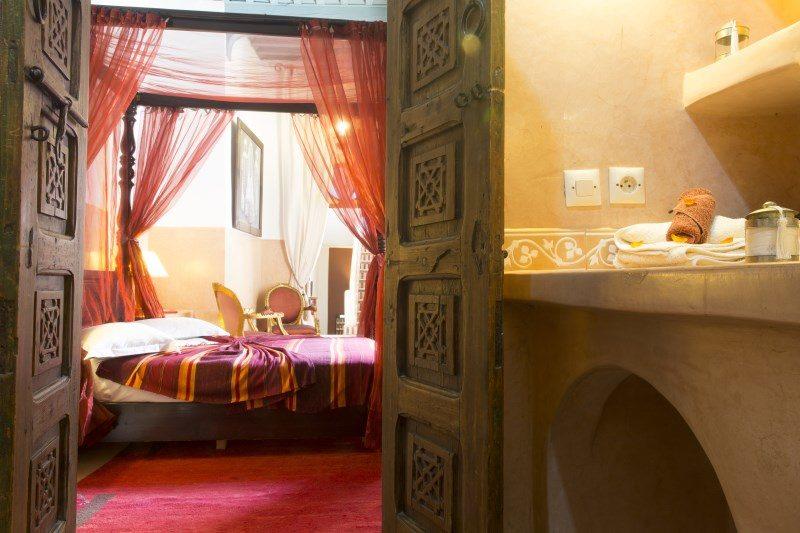 Luxury rooms in Marrakech at Riad El Zohar