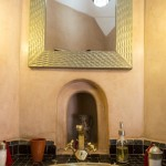 One of our bathrooms in Riad El Zohar, Marrakech