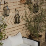 Luxurious outdoor seating, Riad El Zohar, Marrakech