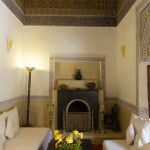 Beautiful interior spaces at Riad El Zohar, Marrakech