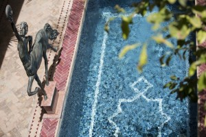 Enjoy our luxurious courtyard pool at the stunning Riad El Zohar, Marrakech