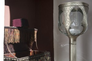 Some of the stunning details in our rooms at Riad El Zohar