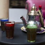 Drinks and entertainment at Riad El Zohar in Marrakech
