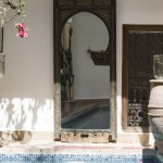 A look at our stunning, authentic courtyard at Riad El Zohar, Marrakech