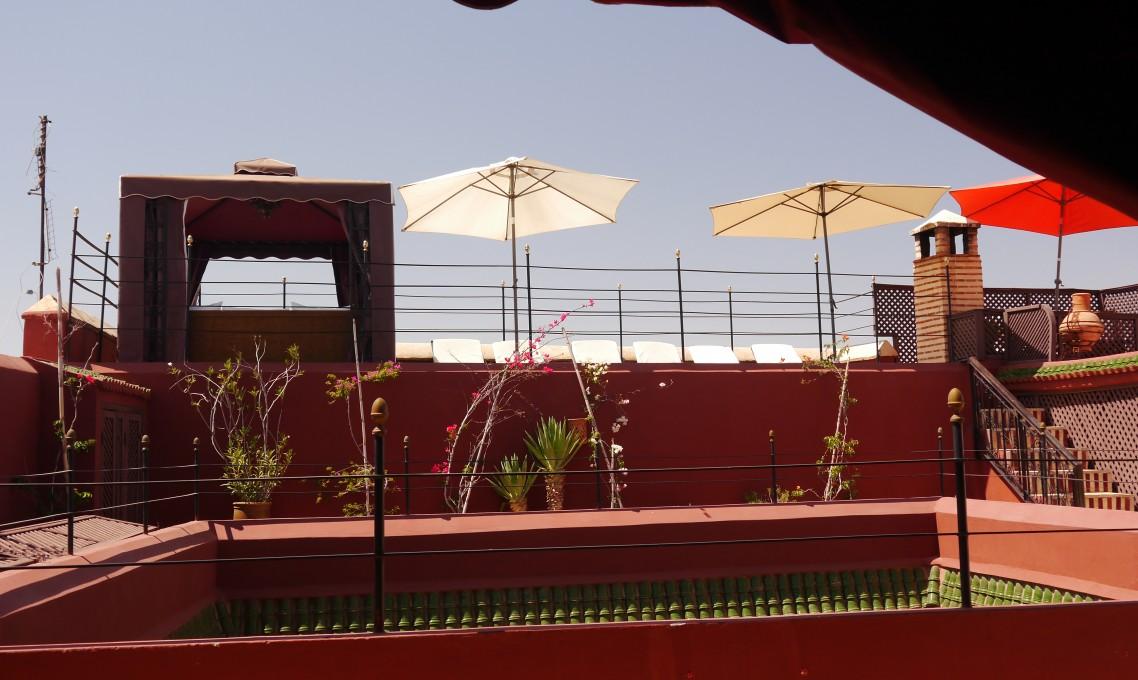 Riad el Zohar - Roof image