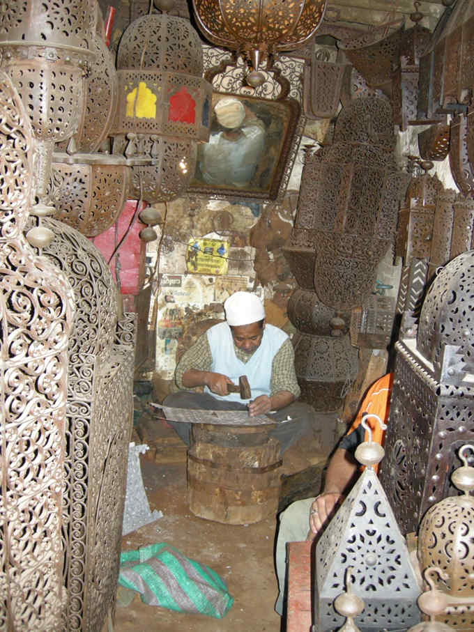 Workshop in the souks