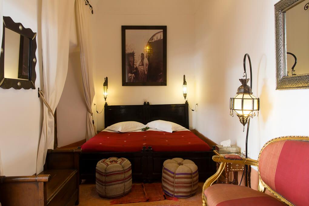 Riad el Zohar - Dades Room - King Bedroom