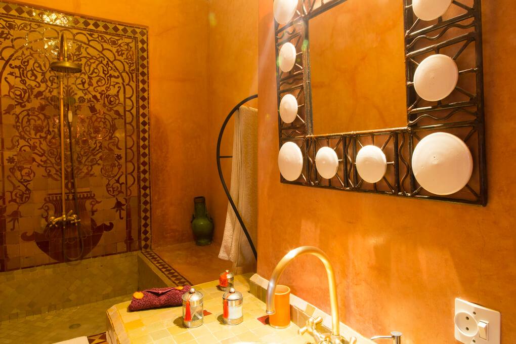 Riad El Zohar- Draa Bathroom