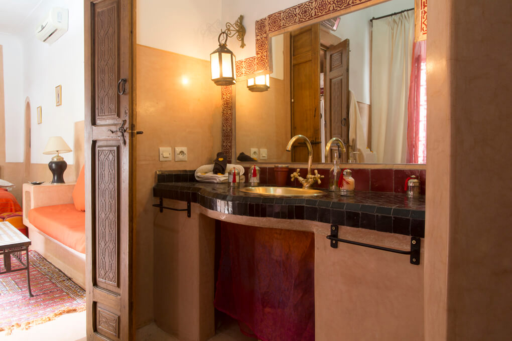 Riad el Zohar - Moulouya-Bathroom