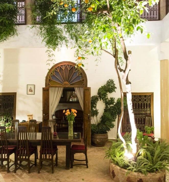 Riad Courtyard gallery
