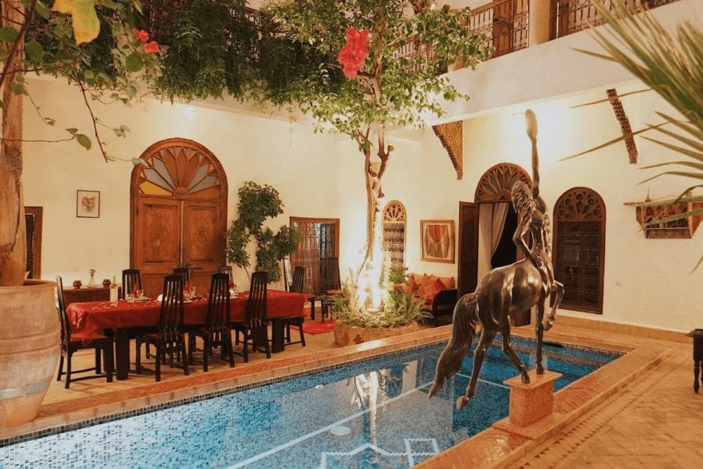 Riad El Zohar - Plunge Pool